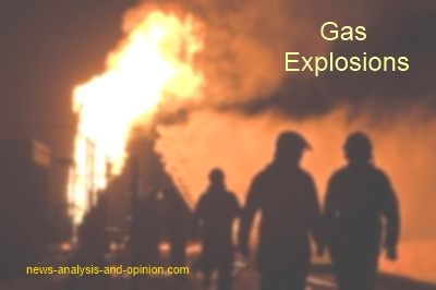 Gas Explosions in Oct 2012