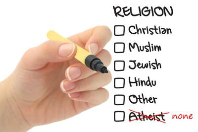 Atheism is the absence of religion