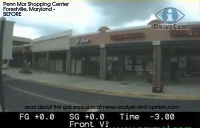 Penn Mar Shopping Center BEFORE gas explosion