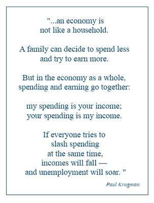 Remember this when organizations say they need to slash spending